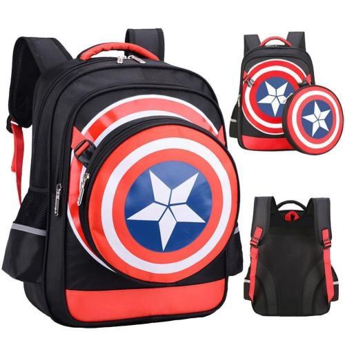 Captain America Comics Bookbag Rucksack Daypack Csso129