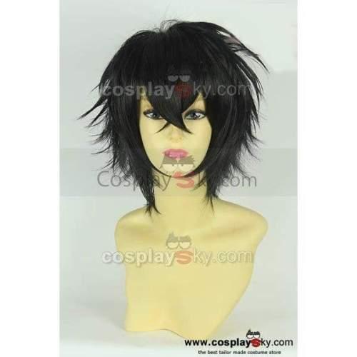 Karneval Gareki Black Cosplay Wig