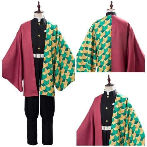 Tomioka Giyuu Cosplay Demon Slayer: Kimetsu No Yaiba Uniform Cosplay Costume