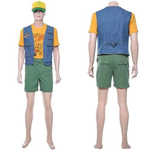 Stranger Things Season 3 Dustin Henderson Uniform Cosplay Costume