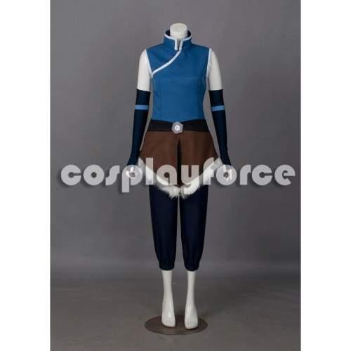 The Legend of Korra Season 4 Book Four: Balance Korra Normal Cosplay Costume mp002086