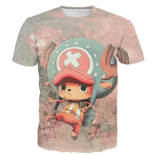 One Piece T-Shirt - Chopper Tee 3D Print T-Shirt Csso027