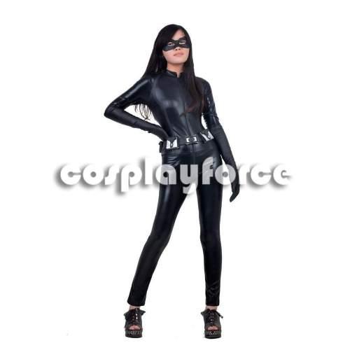 Batman The Dark Knight Rises Cat Burglar Selina Kyle Cosplay Costume Mp002506