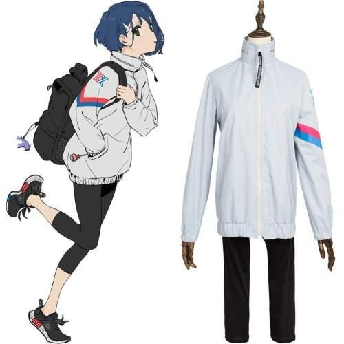 Darling In The Franxx Code 015 Ichigo Sports Suit Cosplay Costume