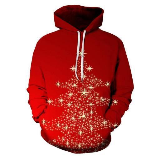 Christmas Tree Lights Hoodie - Sweatshirt, Hoodie, Pullover