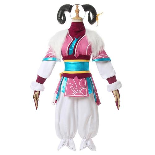 League Of Legends Lol Spirit Blossom Kindred Eternal Hunters Halloween Carnival Suit Cosplay Costume