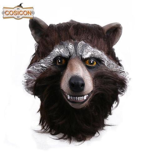 Guardians Of The Galaxy 2  Rocket Raccoon Cosplay Mask  Halloween Party Helmet