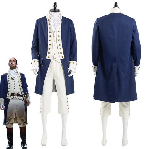 Musical Hamilton Alexander Hamilton Men Uniform Outfits Halloween Carnival Suit Cosplay Costume