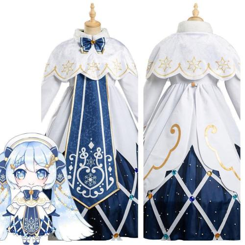 Vocaloid  Hatsune Miku Dress Outfits Halloween Carnival Suit Cosplay Costume
