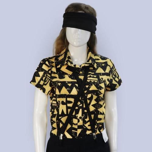 Stranger Things 3 Eleven Shirt Blindfold Suspender Summer T-Shirts