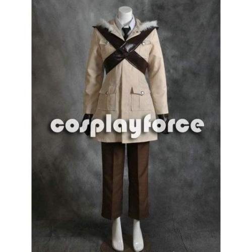 Hetalia: Axis Powers Canada Matthew Williams Cosplay Costumes