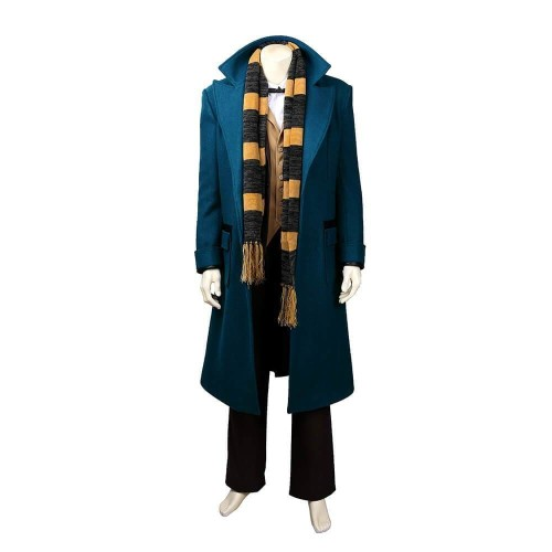 Fantastic Beasts And Where To Find Them Newt Scamander Cosplay Costume Halloween Cosplay Suit