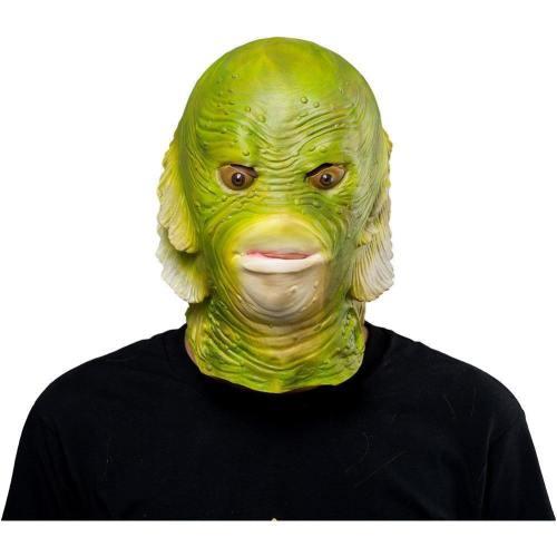 Fish Helmet Halloween Animal Latex Helmet Full Face Adult Cosplay Props