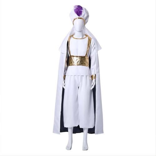 Aladdin Prince Cosplay Costume
