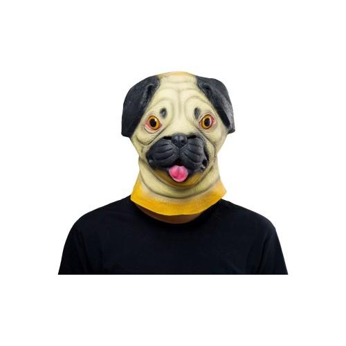 Sharpei Dog Mask Halloween Animal Latex Masks Full Face Mask Adult Cosplay Prop