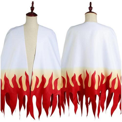 Demon Slayer: Kimetsu No Yaiba Rengoku Kyoujurou Adult Cloak Coat Halloween Carnival Suit Cosplay Costume