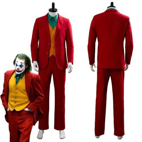 Joker Origin Romeo  Film Dc Movie Joaquin Phoenix Arthur Fleck Cosplay Costume Outfit Suit Uniform