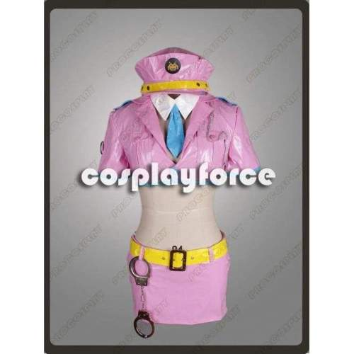 SUPERSONICO police Cosplay Costume