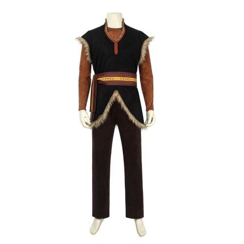 Frozen 2 Kristoff Costumes Halloween Cosplay Suit