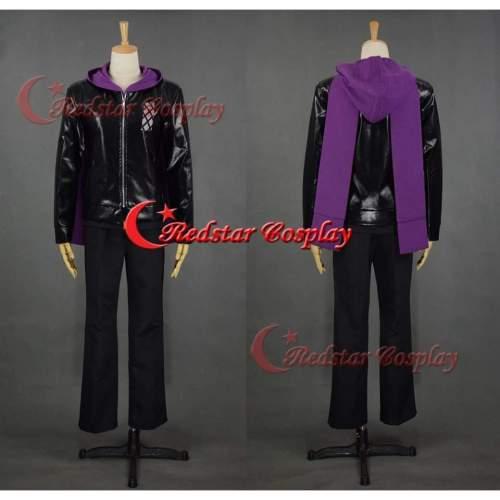 New Tokyo Ghouls Ii Kirishima Ayato Cosplay Costume Pleather Suit Hooded Coat Custom In Any Size