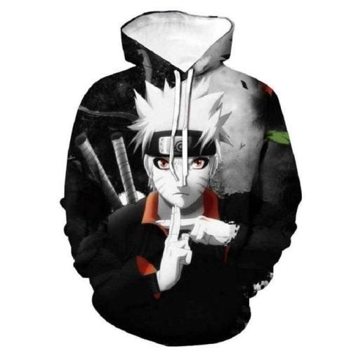 Naruto Hoodie - Shippuden Naruto Pullover Hoodie