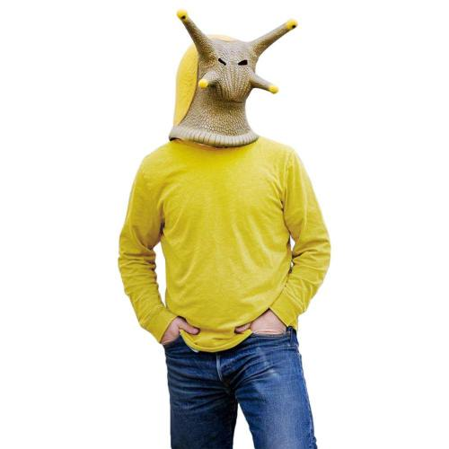 Halloween Animal Latex Helmet Snail Banana Slug Full Face Helmet Adult Cosplay Props