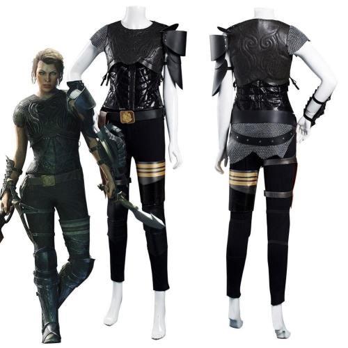 Movie Monster Hunter Artemis Vest Pants Outfits Halloween Carnival Suit Cosplay Costume