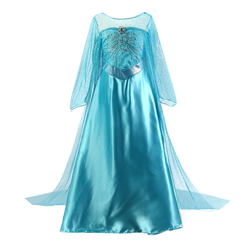 Baby Girl Princess Elsa Dress Clothing Xmas Party Cosplay Costume