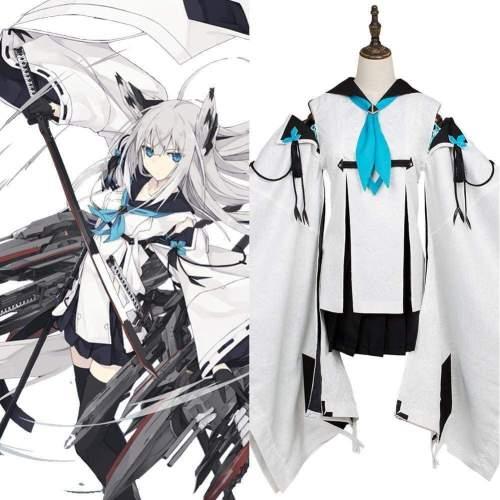 Azur Lane Super Rare/Ssr Kawakaze Cosplay Costume