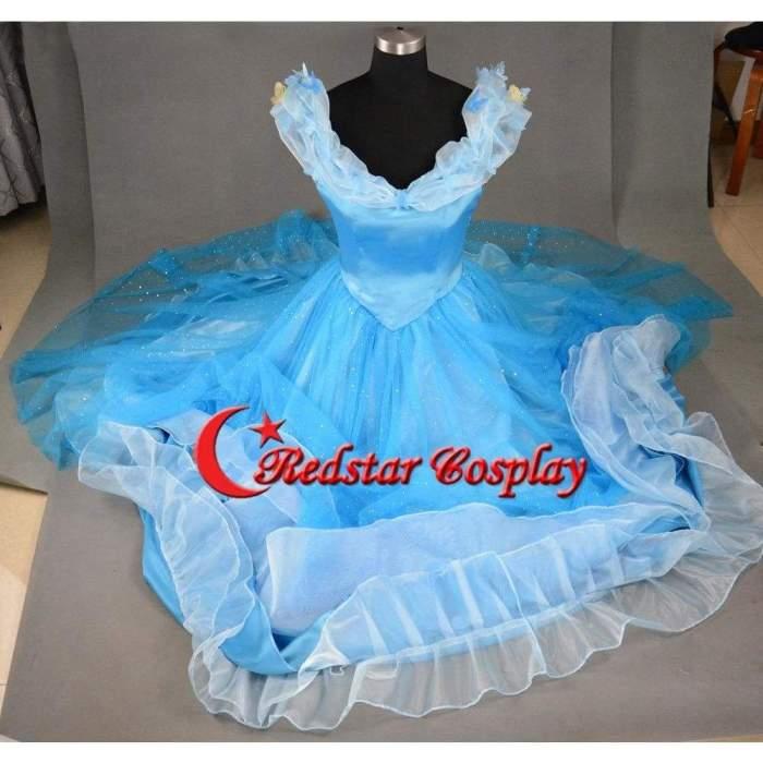 Cinderella Dress Cinderella Cosplay Cinderella Costume Dress For Girls Adult