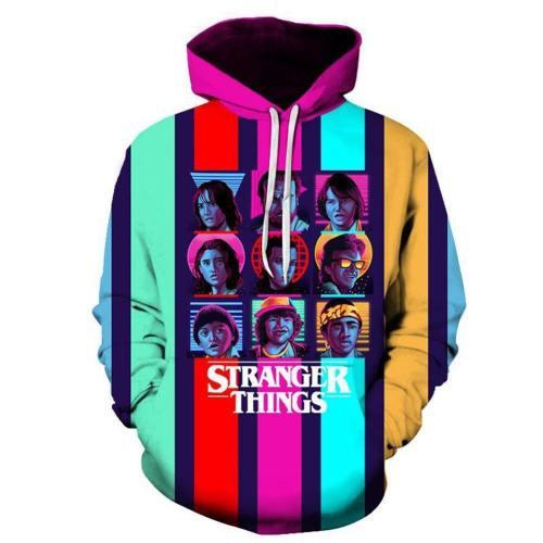 Stranger Things Hoodie - Tv Series Pullover Hoodie
