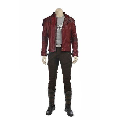Guardians Of The Galaxy Peter Quill Star Lord Costume Halloween Party Cosplay Suit