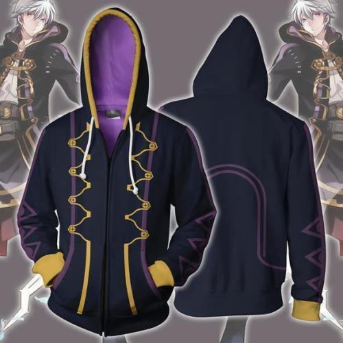 Fire Emblem Robin Zip Up Hoodie