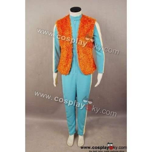 Star Wars Greedo Costume Jumpsuit Vest Cosplay