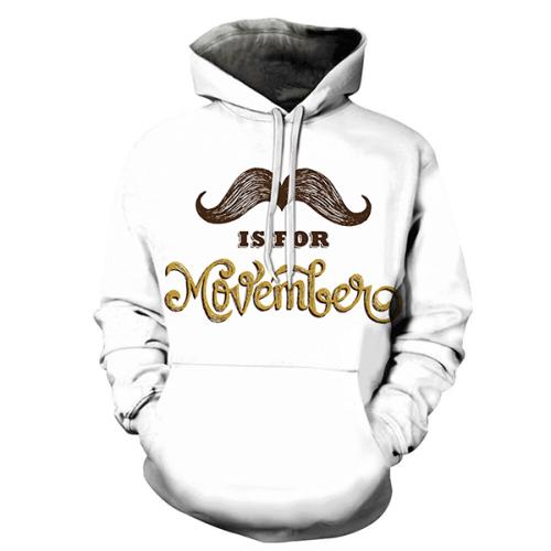 3D Mustache Is For Hoodie - Sweatshirt, Hoodie, Pullover