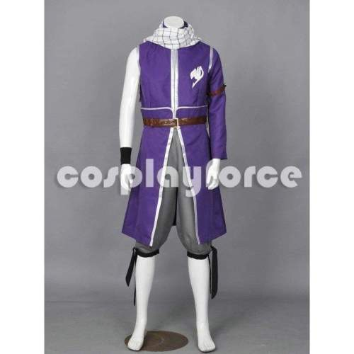 Fairy Tail Grand Magic Games Natsu Dragneel Cosplay Costume