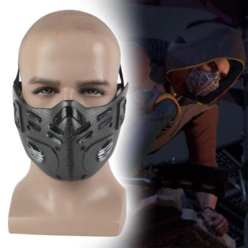 Dying Light 2 Cosplay Kyle Crane Aiden Face Mask Pvc Masquerade Party Mask Props New Halloween Party Masks