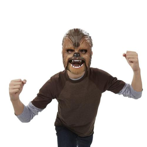 Star Wars The Force Awakens Chewbacca Mask Electronic Luminous Party & Halloween Mask Toys With Voice