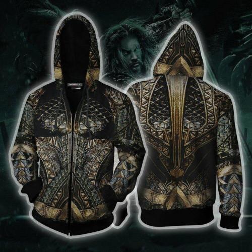 New 3D Print Aquaman Arthur Curry / Orin Sweater Jackets Women Men Halloween Cosplay Costumes Cotton Hoodies Sweatshirts Coat