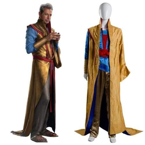 Thor 3 Ragnarok Grandmaster En Dwi Gast Robe Cosplay Costume