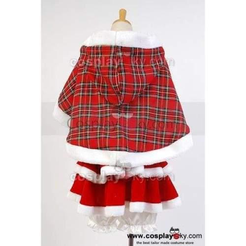 Lovelive! Hanayo Koizumi Christmas Uniform Cosplay Costume