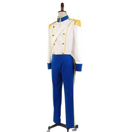 The Little Mermaid  Prince Eric Uniform Cosplay Costume