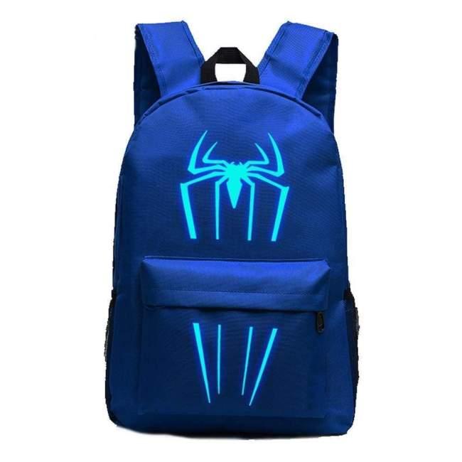 Marvel Comic Spiderman Luminous Computer Backpack 19X12''