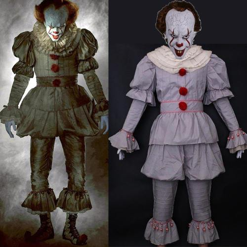 It Movie Pennywise The Clown Outfit Cosplay Costume