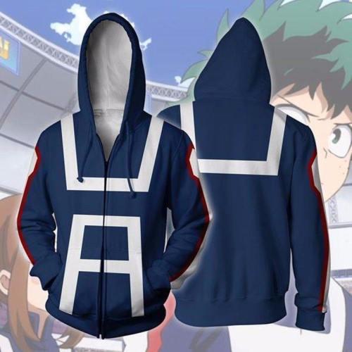 Anime My Hero Academia Boku No Hero Academia Kohei Horikoshi Cosplay Costumes Sweatshirt