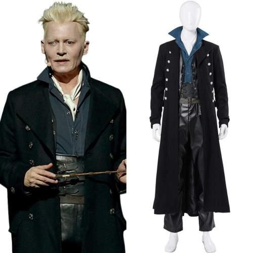 Fantastic Beasts: The Crimes Of Grindelwald Gellert Grindelwald Cosplay Costume