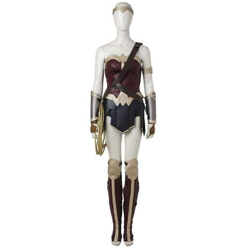 Wonder Woman Diana Prince Cosplay Costume Batman v Superman Dawn of Justice Cosplay Outfit Justice League Halloween Custom Made