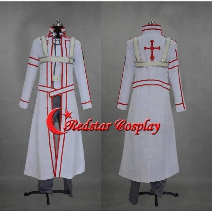 Sword Art Online Cosplay Kazuto Kirigaya Kirito Cosplay Costume - Knights Of The Blood