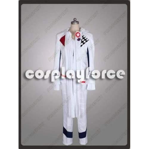 Gunslinger Stratos:The Animation Rontier S Tohru Kazasumi Cosplay White Costume Mp002530