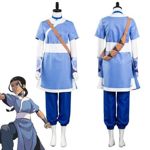 Avatar: The Last Airbender Katara Halloween Carnival Suit Cosplay Costume